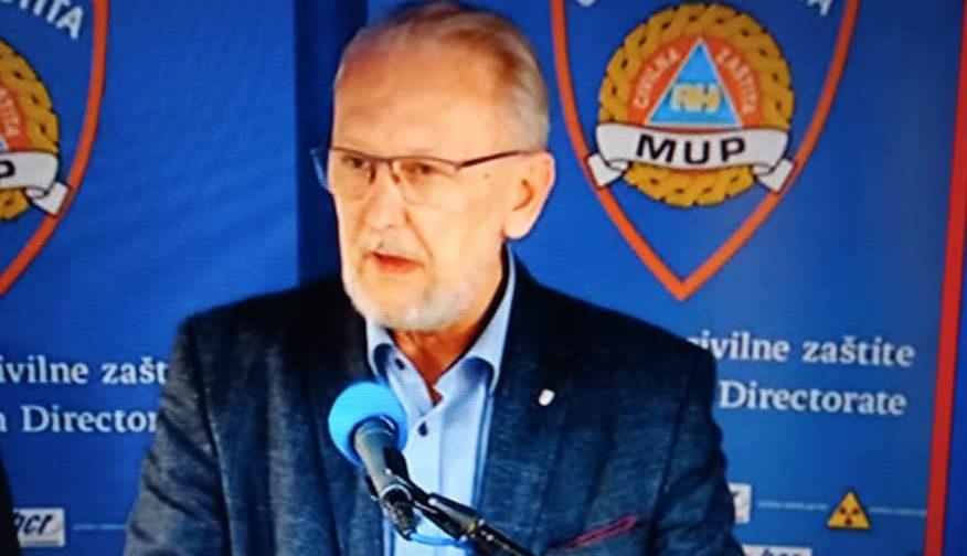 """Božinović: Obračunat ćemo se s onima koji šire paniku, jedan građanin napao policajca. """"To nećemo dopustiti"""""""