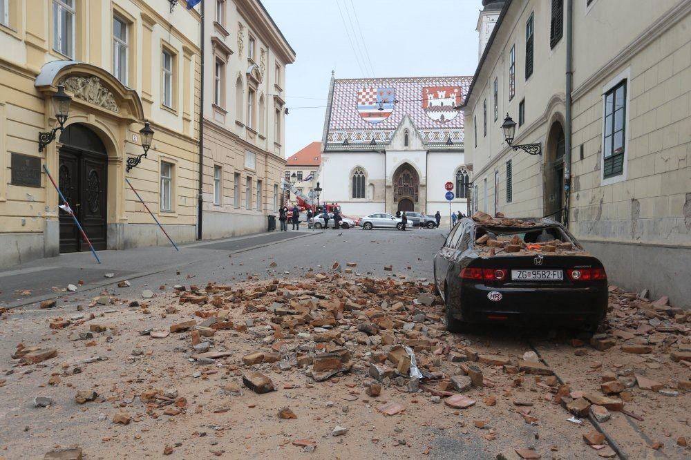 Potres jakosti 5,3 pogodio Zagreb