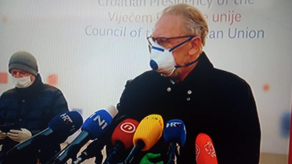 Božinović: Sve službe izašle na teren i obavile posao