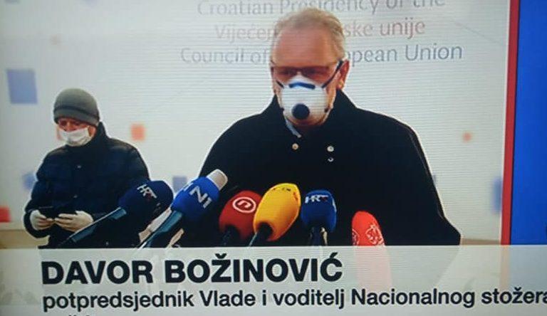 """Božinović: """"Širitelji lažnih vijesti moraju biti najstrože kažnjeni. Policija već provodi istraživanja"""""""
