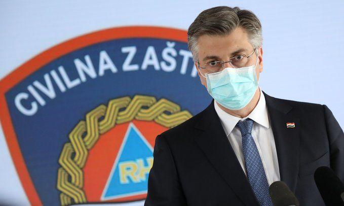 HRVATSKI PREMIJER Plenković: Profitiranje na potresu i epidemiji neće proći