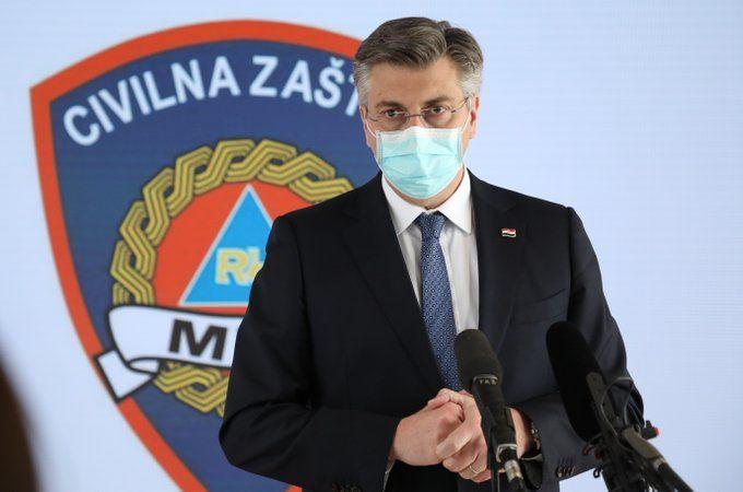 HRVATSKI PREMIJER Plenković: Poduzete mjere primjerene su prijetnji pogibelji od epidemije koronavirusa