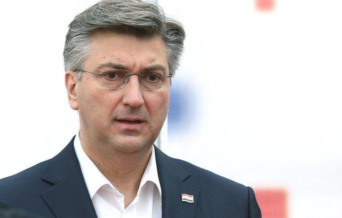 Plenković: Žinić je trebao pokazati kako se treba ponašati u sadašnjoj situaciji