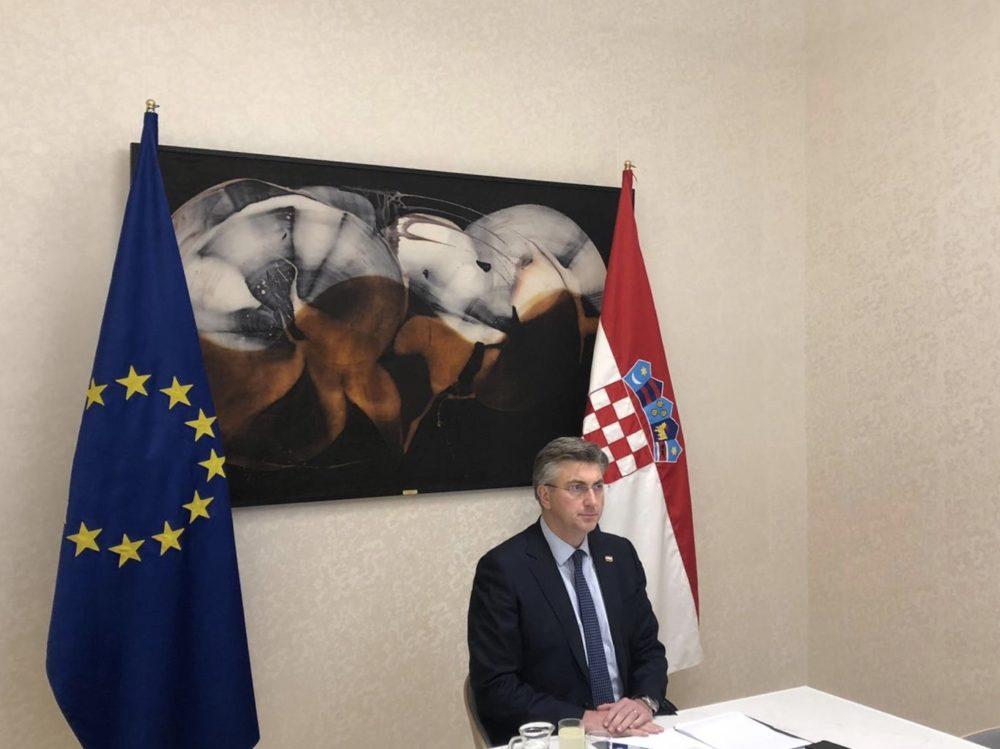 Plenković: Investicijski odgovor EU-a na korona-krizu: Hrvatskoj 1,16 milijardi eura