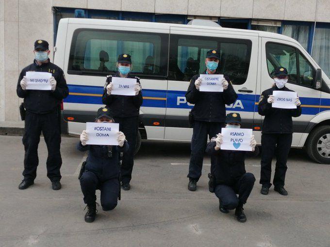 MUP: Tri policijska službenika pozitivna na koronavirus
