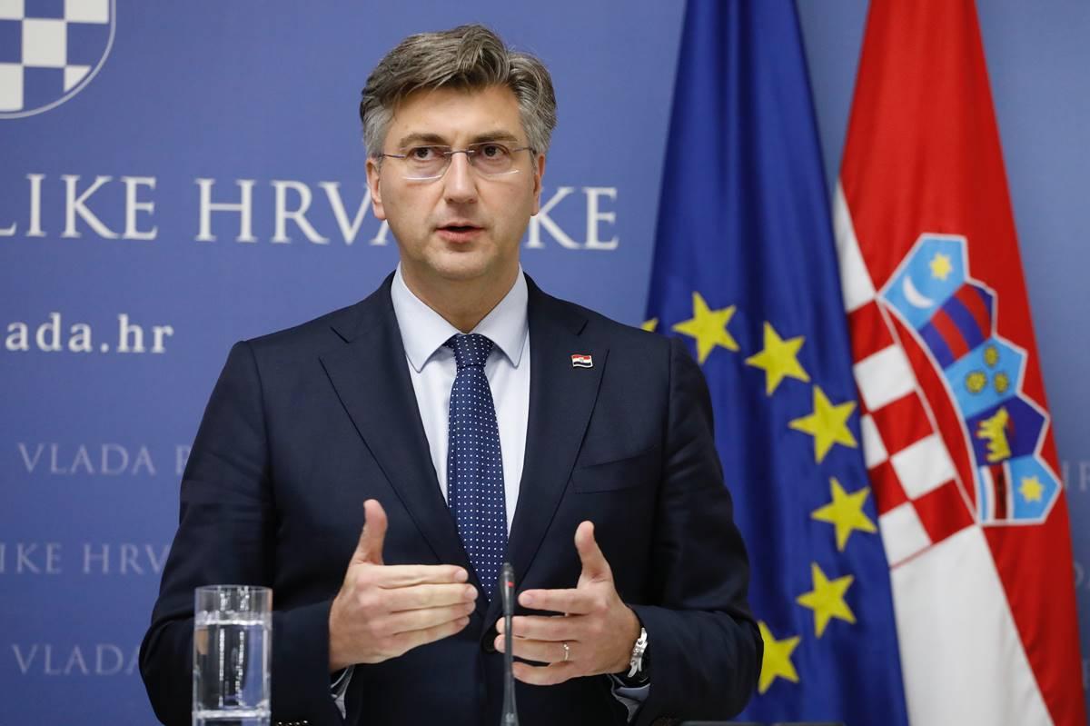 (VIDEO) HRVATSKI PREMIJER Plenković: U ratu smo protiv koronavirusa i njegovih društveno-ekonomskih posljedica