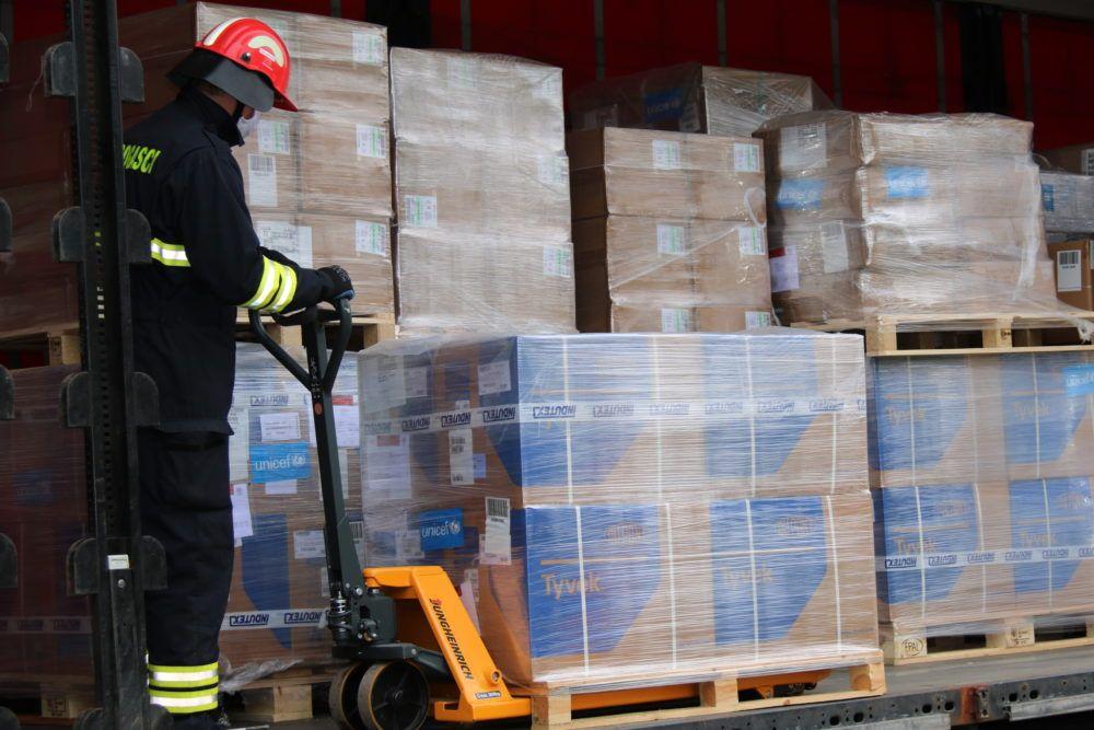UNICEF dostavio četiri tone zaštitne i medicinske opreme u Hrvatsku kako bi odgovorio na trenutnu krizu izazvanu koronavirusom