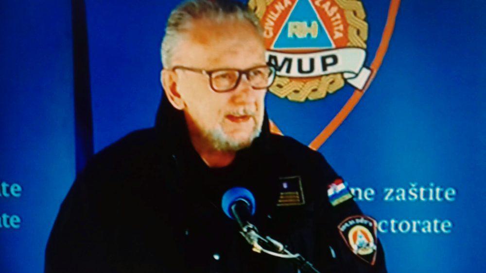 Božinović: Noć protekla mirno, policija osiguravala pogođeni dio Zagreba, 27 osoba ozlijeđeno u potresu, od čega 18 teže