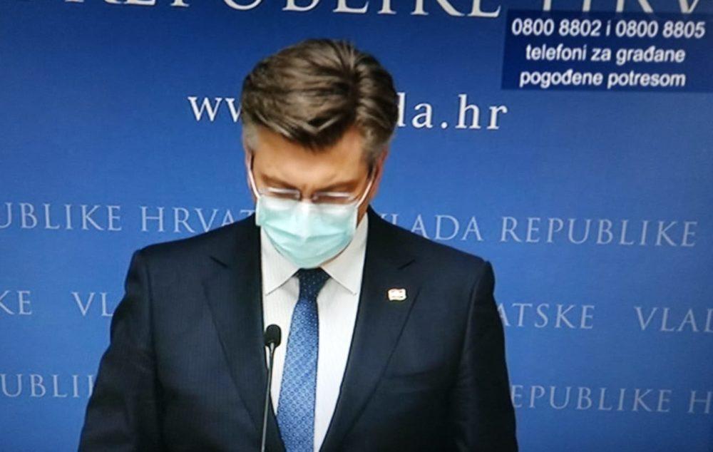 HRVATSKI PREMIJER Plenković pozvao na odgovornost, razumijevanje i solidarnost