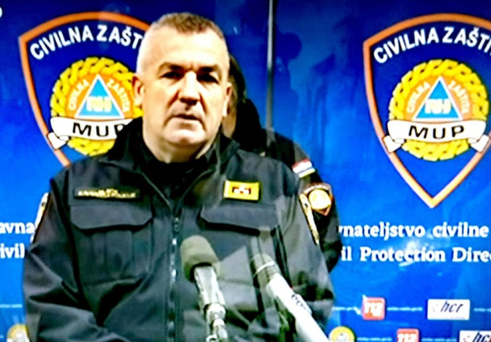 Glavni ravnatelj policije Nikola Milina: Zaražena dva policajca, njih 90 pod mjerama samoizolacije