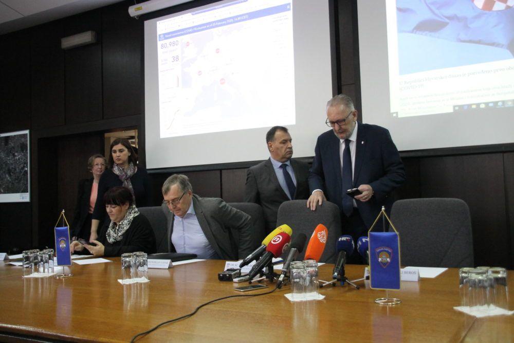 (VIDEO) Nacionalni stožer: Novih pet slučajeva koronavirusa u Hrvatskoj, ukupno 24 zaraženih