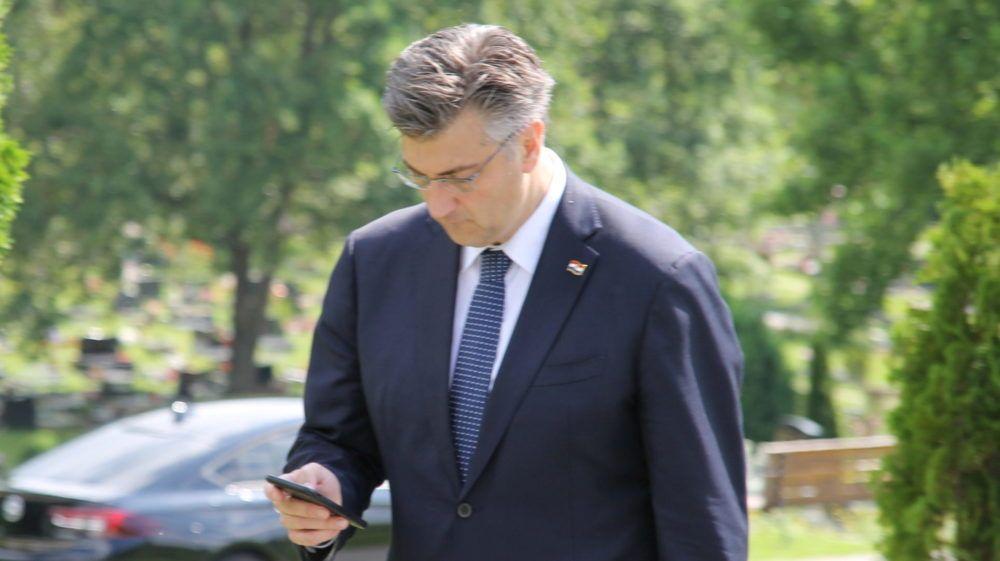 """Plenković: """"Unutar članstva HDZ-a puštena SMS poruka 'fake news'. Očito je druga ekipa shvatila da gubi pa nastoje zbuniti dio birača"""""""