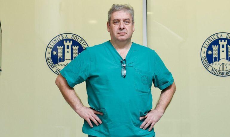 Ravnatelj KBC-a Sestre milosrdnice Mario Zovak: Bolnice moraju biti spremne i za najcrnje scenarije te zbrinuti oboljele