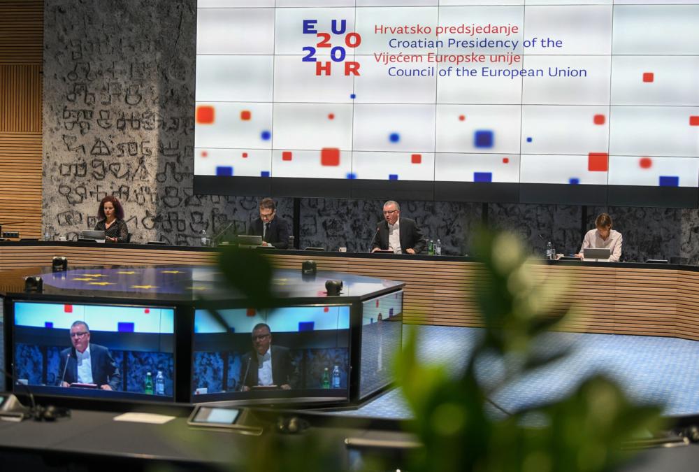 Ministar Horvat o borbi protiv koronavirusa s ministrima gospodarstva članica EU-a