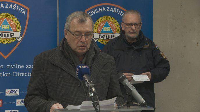 Nacionalni stožer civilne zaštite: 361 zaražena osoba; šestero na respiratoru