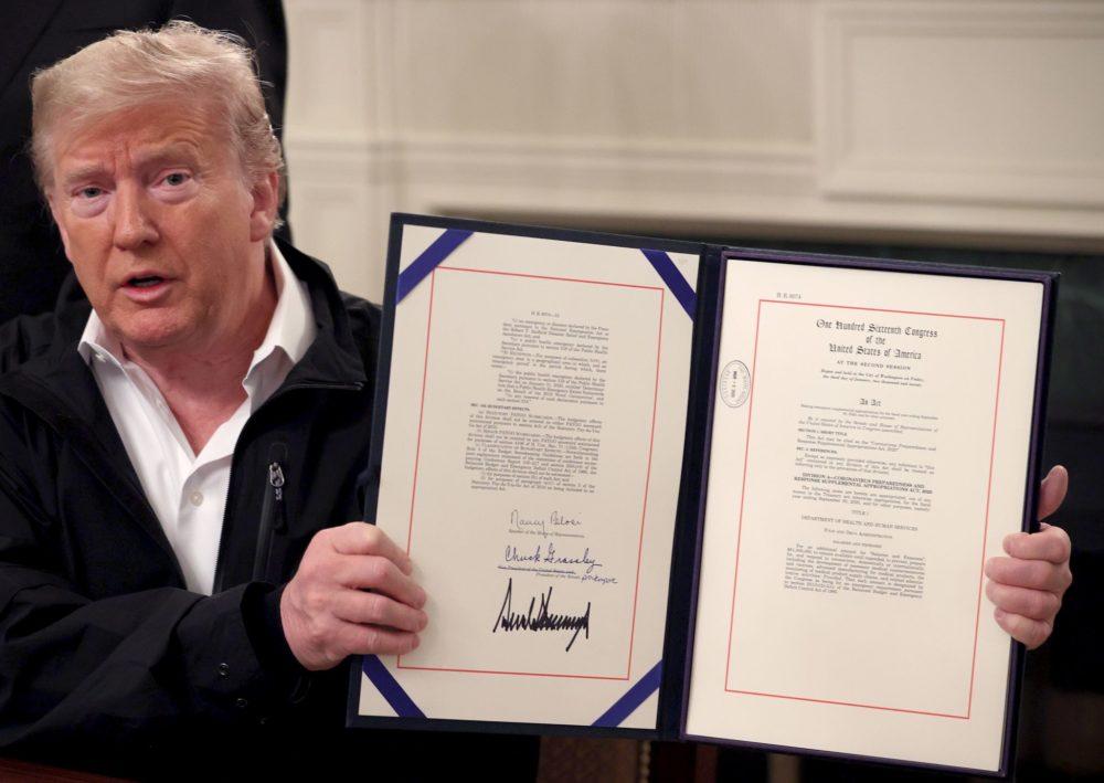 Američki predsjednik Trump odobrio 8,3 milijarde dolara za borbu protiv koronavirusa