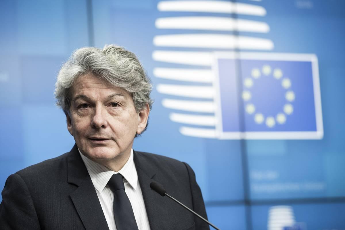 """Thierry Breton: U EU-u prisilne mjere praćenja telefonom zaraženih koronavirusom """"ne dolaze u obzir"""""""