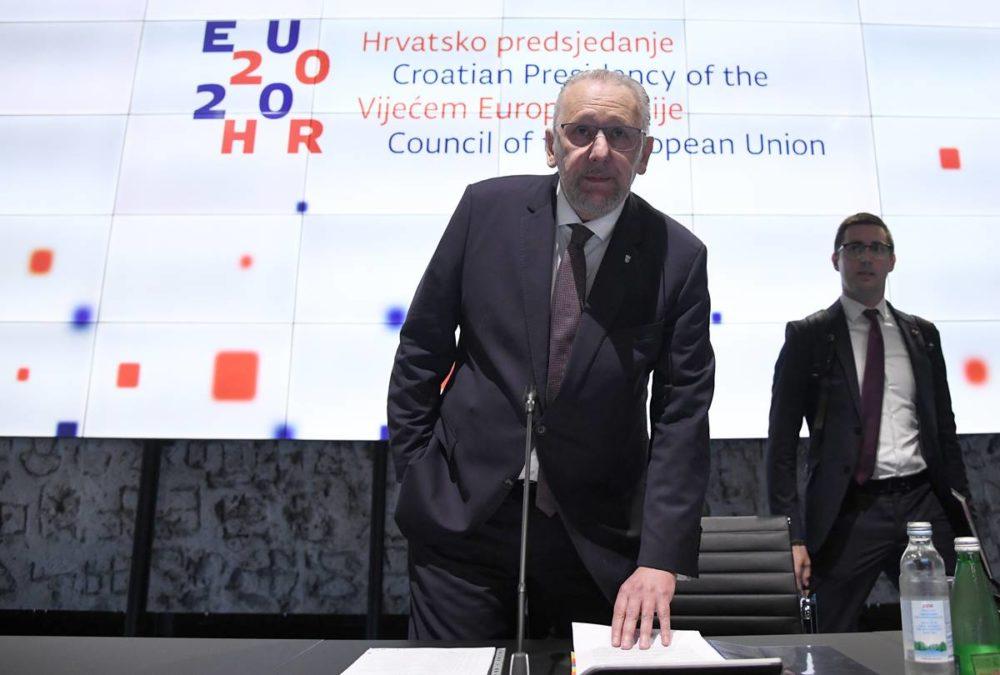 (VIDEO) Božinović s europskim kolegama o popuštanju mjera i migracijama