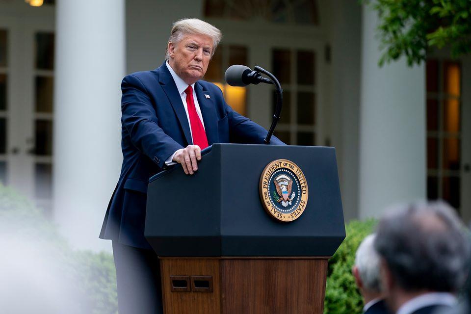 """Američki predsjednik Trump: Vrhunac epidemije zaraženih Covidom-19 prolazi. """"Vratit ćemo se još jači, svi mi"""""""