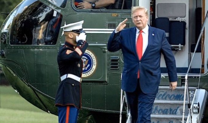"""Trump opovrgava da je kasno reagirao na prijetnju koronavirusa: """"zašto su me onda Demokrati i mediji zlobno kritizirali kad sam uveo zabranu putovanja za Kinu? Oni su rekli 'rano i nepotrebno' """". """"Korumpirani mediji"""""""