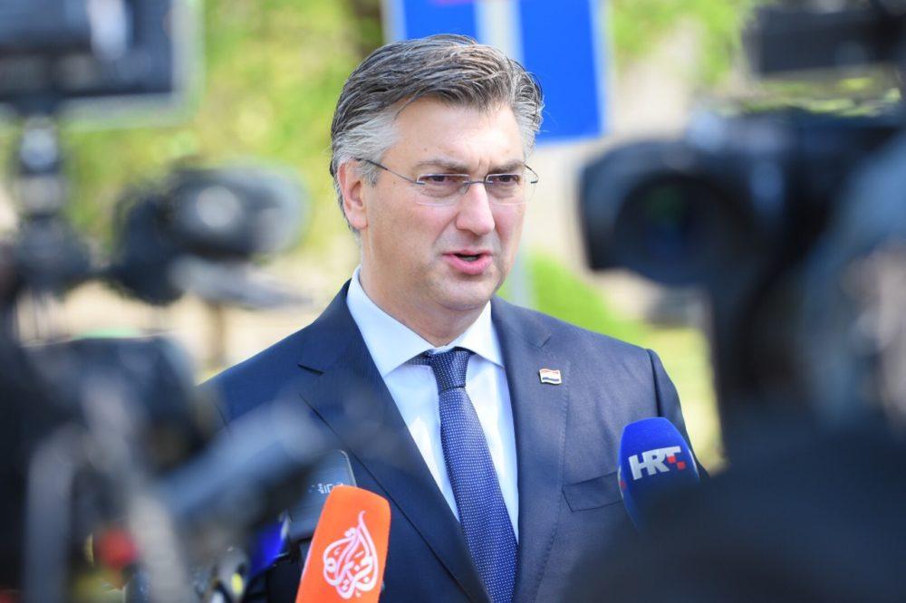 HRVATSKI PREMIJER Plenković: Zadaća vlasti da smanjuje podjele u društvu