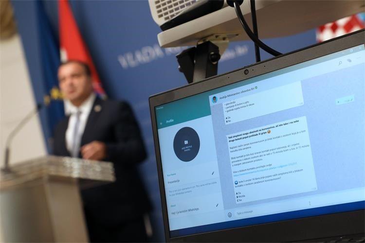 """UMJETNA INTELIGENCIJA Predstavljen prvi hrvatski digitalni asistent """"Andrija"""" u borbi protiv Covida – 19"""