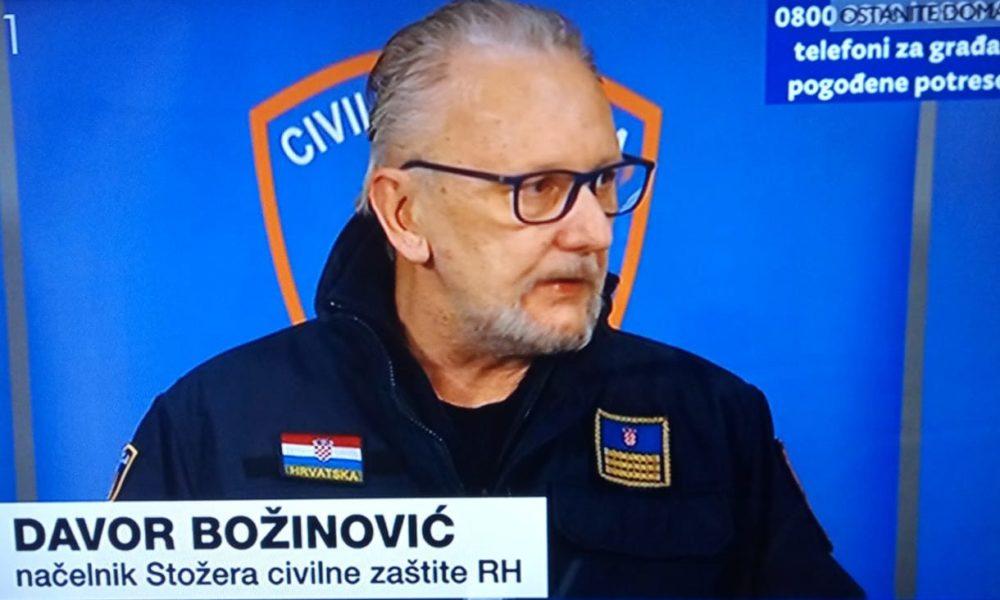 Božinović: Bez nužne potrebe nitko ne bi trebao putovati