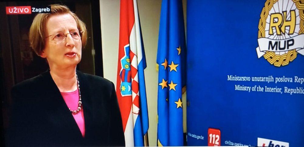 Ravnateljica zagrebačke Klinike za infektivne bolesti Alemka Markotić: Utjecaj medija jedan od razloga za uspjeh u borbi protiv koronavirusa