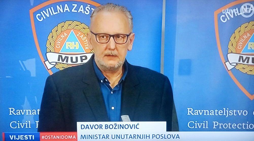 Božinović: Potpisana odluka o radu tržnica po striktnim pravilima