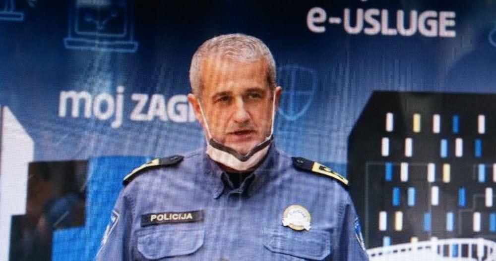 U ZAGREBU 11 NOVIH POZITIVNIH NA COVID-19 NačelnikPolicijskeuprave zagrebačke Marko Rašić: Građani budite disciplinirani da ne dođe do zatvaranja parkova