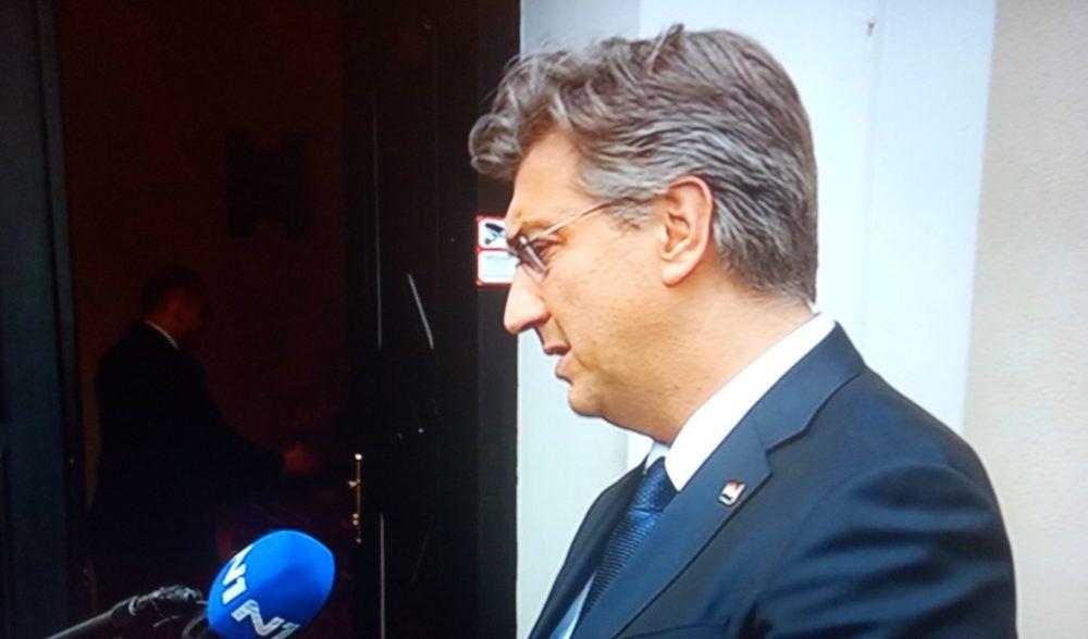 Plenković: HDZ 20 posto od sredstava za financiranje stranaka daje za borbu protiv epidemije koronavirusa