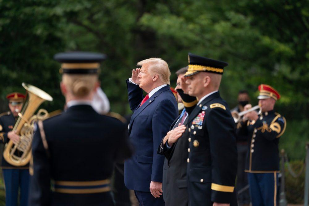 """Američki predsjednik Trump: """"Borim se sa 'dubokom državom'. Borim se protiv močvare, to je grupa zlobnih ljudi"""""""