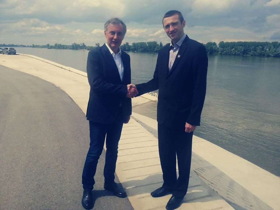 Vukovarski gradonačelnik Ivan Penava na izborima kao neovisni kandidat na listi Domovinskog pokreta Miroslava Škore