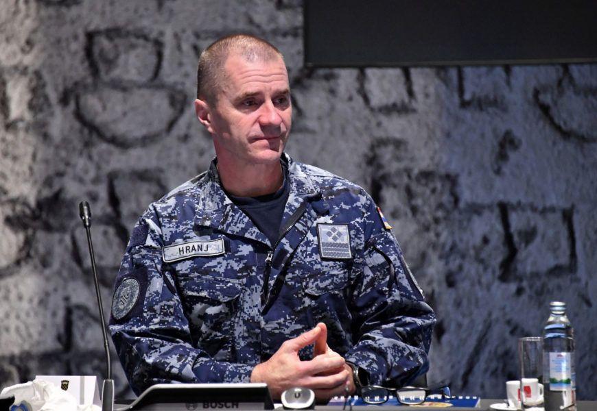 Videokonferencija Vojnog odbora Europske unije – Admiral Hranj: Solidarnost, koordinirane aktivnosti i zajednički pristup danas su važniji nego ikada