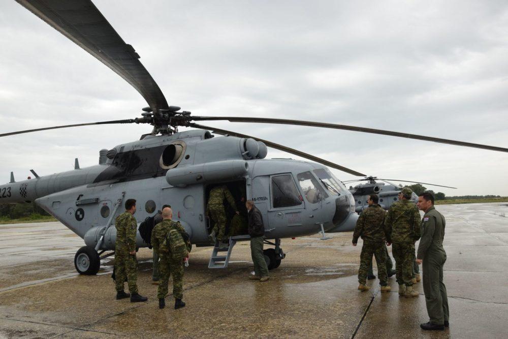 MORH : 33. hrvatski kontingent upućen u operaciju potpore miru NATO-a KFOR na Kosovo