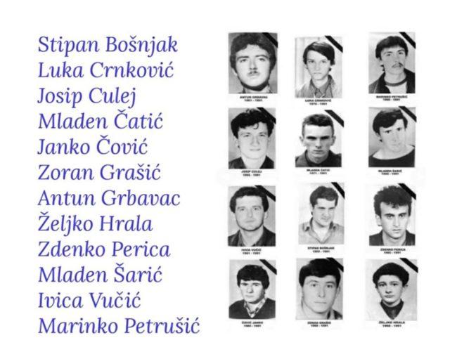 Tomislav Karamarko u znak sjećanja na poginule redarstvenike u Borovu Selu:  Počivajte u miru, 12 hrvatskih vitezova, s nama ste zauvijek! – Totalno HR