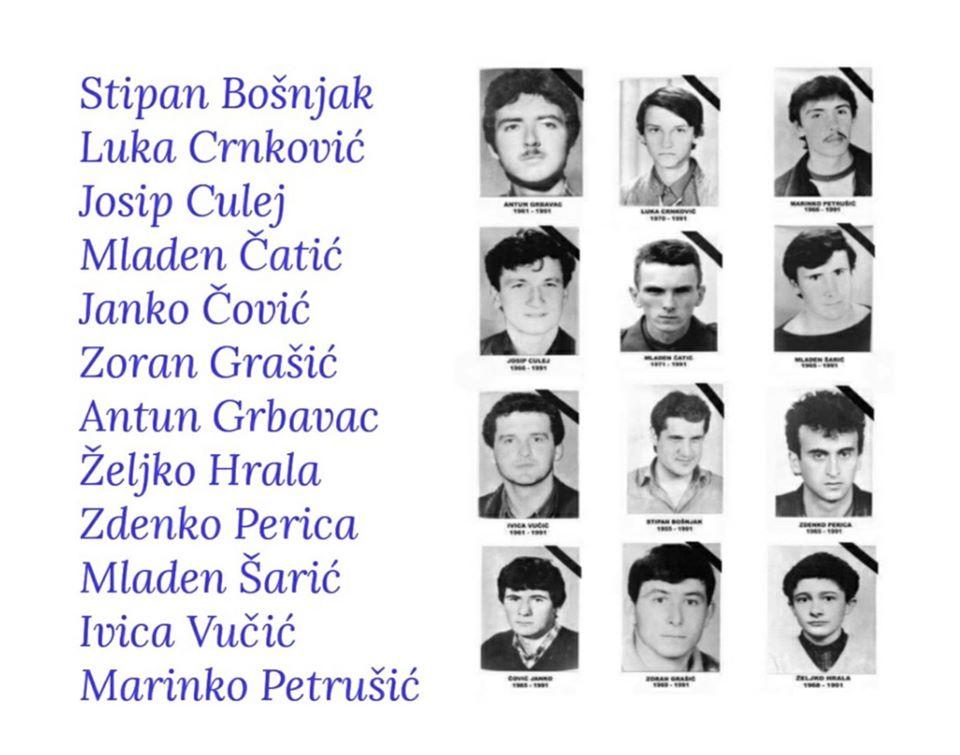 Tomislav Karamarko u znak sjećanja na poginule redarstvenike u Borovu Selu: Počivajte u miru, 12 hrvatskih vitezova, s nama ste zauvijek!