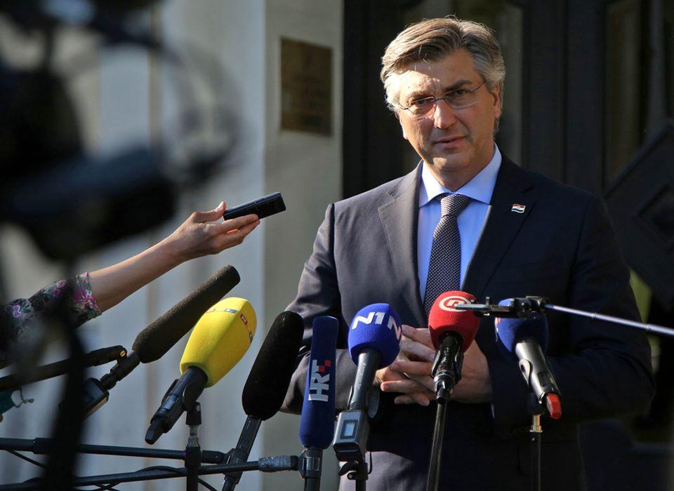 Plenković: HDZ neće izgubiti glasove zbog Škorinog okupljanja desnice