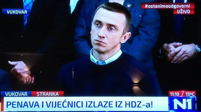 """Penava: Napuštam HDZ, na izbore najvjerojatnije idem sa Škorom, """"Onaj tko na Vukovar krene đonom, dobit ćelakat"""""""