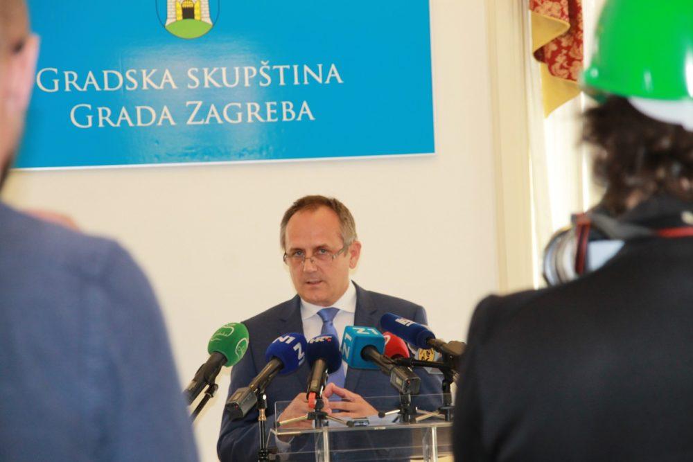 Predsjednik zagrebačke Gradske skupštine Prgomet: Bandić omalovažava HDZ; Dogovor nemoguć, povjerenje na najnižoj razini