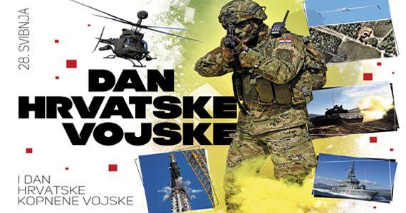 (VIDEO) Dan Oružanih snaga i Hrvatske kopnene vojske