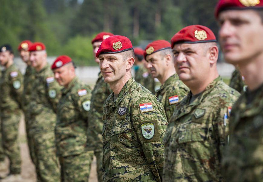 Pripadnici Hrvatske vojske proslavili Dan HV-a u Litvi