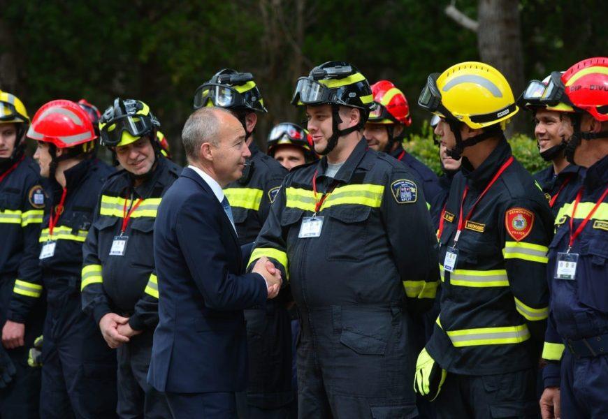 Ministar Krstičević uputio čestitku vatrogascima povodom Dana vatrogasaca: Vi ste naši heroji u miru koji spašavate ljudske živote i imovinu