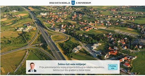 Grad Sveta Nedelja prvi u Hrvatskoj uveo alat za savjetodavni e-referendum