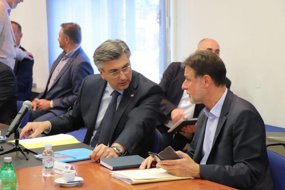 HOĆE LI HDZ USPJETI POSLOŽITI TEREN ZA POBJEDU? Plenković nosi listu u prvoj izbornoj jedinici, ministri Božinović i Marić najjači aduti HDZ-a