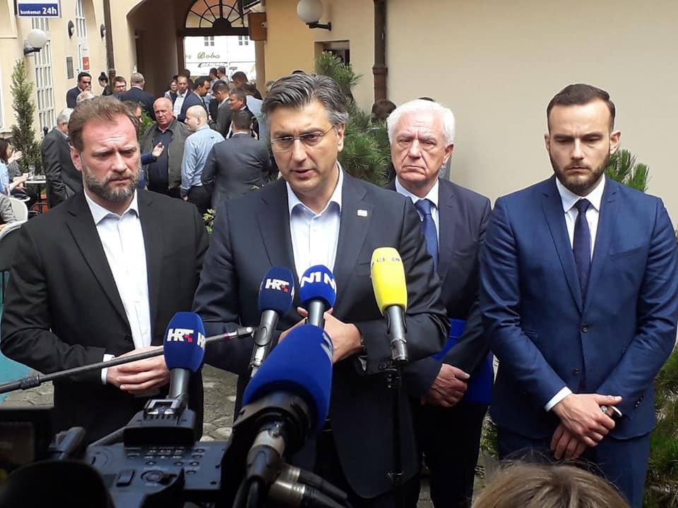 Plenković: Aktivnosti Škore i Mosta razlog što je na Pantovčaku kandidat SDP-a