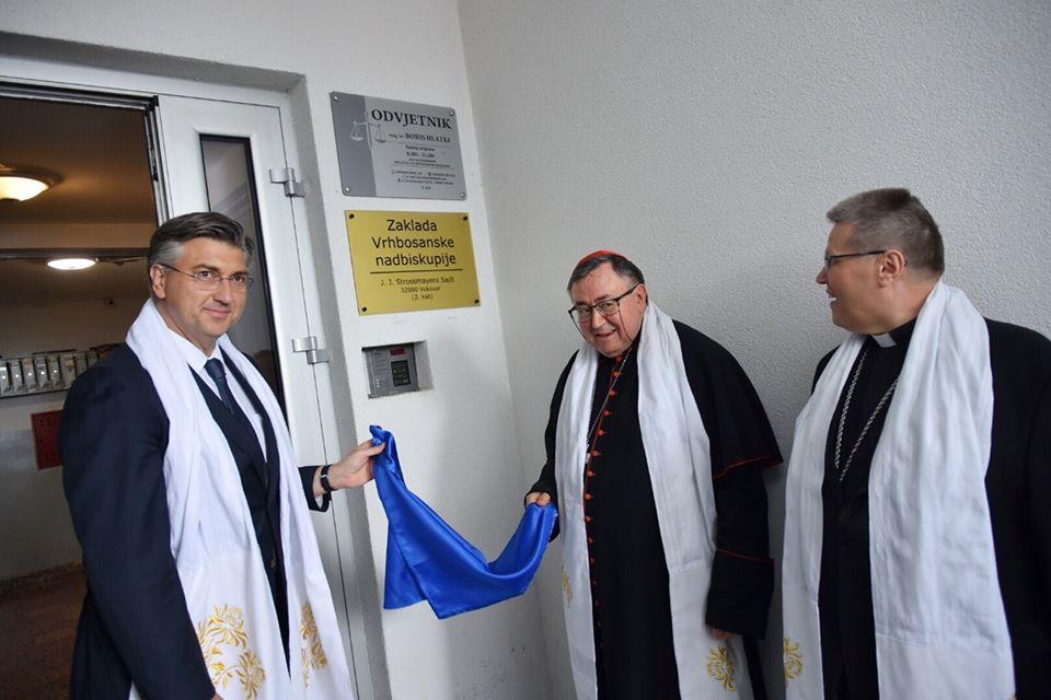U Vukovaru otvoren Ured Zaklade Vrhbosanske nadbiskupije