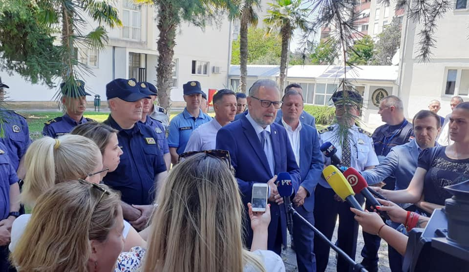 Božinović: Poduzimaju se radnje u vezi bivšeg načelnika primorsko-goranske krim policije Kruneša