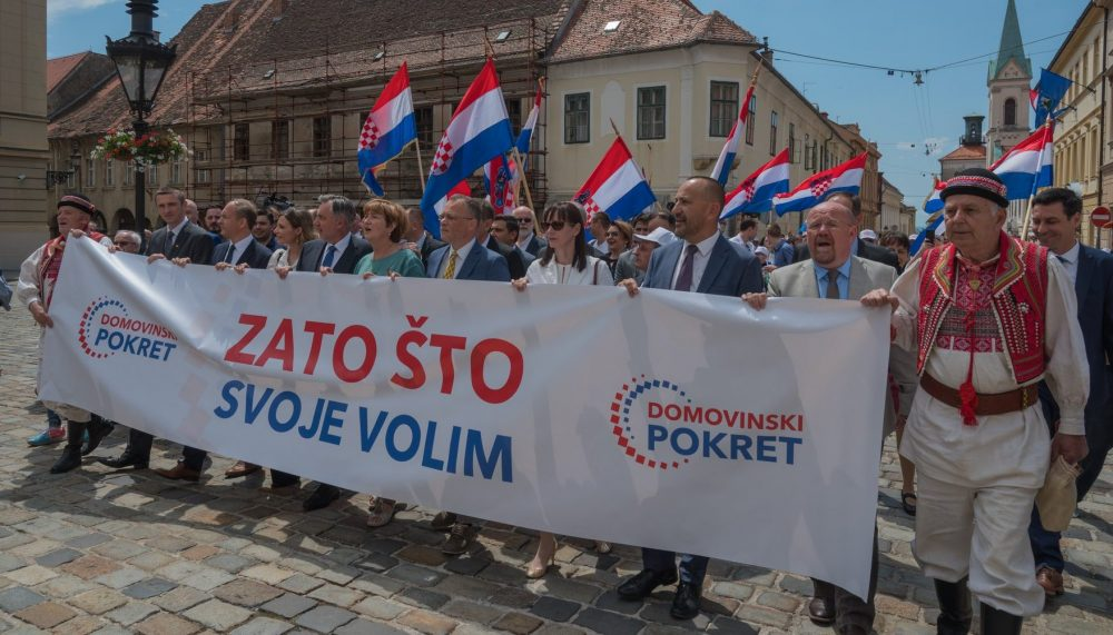 HDZ ZBOG NAPADA NA DOMOVINSKI POKRET MIROSLAVA ŠKORE TONE SVE ...