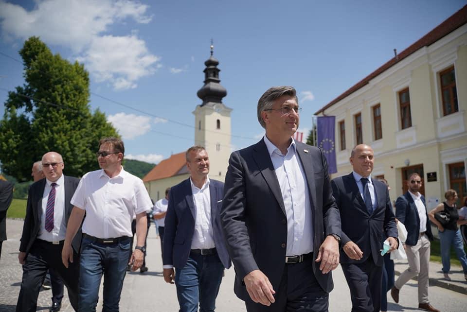 HRVATSKI PREMIJER I PREDSJEDNIK HDZ-a Andrej Plenković: Sjever Hrvatske Vladi je iznimno važan